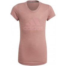 Tee-Shirt adidas Junior Fille Must Haves Rose