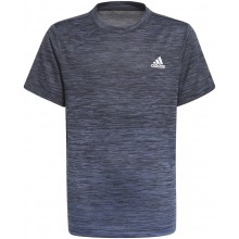 Tee-Shirt adidas Junior Garçon Aeroready Grad Bleu