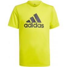 Tee-Shirt Adidas Junior Garçon Jaune