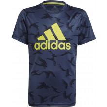 Tee-Shirt Adidas Junior Garçon Marine