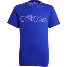 Tee-Shirt Adidas Junior Garçon Bleu
