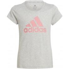 Tee-Shirt Adidas Junior Fille Gris