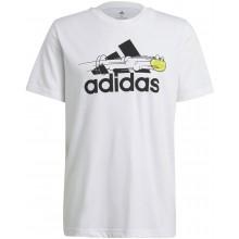 Tee-Shirt adidas Graphic Blanc