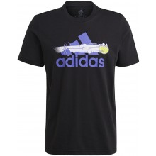 Tee-Shirt adidas Graphic Noir