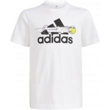 Tee-Shirt adidas Junior Garçon Graphic Blanc