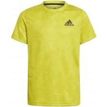 Tee-Shirt Adidas Junior Garçon OZ Jaune