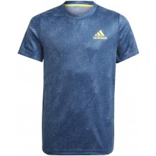 Tee-Shirt Adidas Junior Garçon OZ Marine