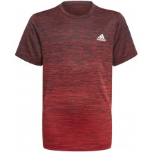 Tee-Shirt adidas Junior Garçon Aeroready Grad Rouge
