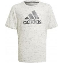 Tee-Shirt Adidas Junior Fille Blanc