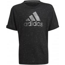 Tee-Shirt Adidas Junior Fille Noir