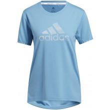 Tee-Shirt Adidas Femme Bos Bleu