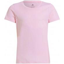 Tee-Shirt adidas Junior Fille G Lin Rose