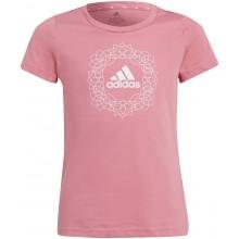 Tee-Shirt adidas Junior Fille G GFX Rose