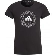 Tee-Shirt Adidas Junior Fille G GFX Noir