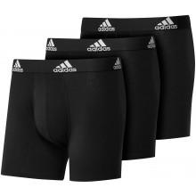 Pack de 3 boxers adidas Noir
