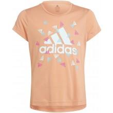 Tee-Shirt Adidas Junior Fille G UP2MV Rose