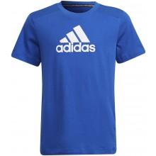 Tee-Shirt Adidas Junior Garçon B Bos Bleu