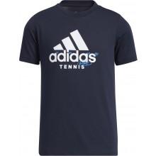 Tee-Shirt adidas Junior Tennis Marine