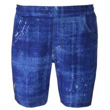 Short Australian Jeans Bleu