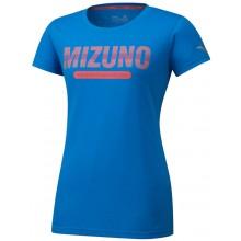 Tee-Shirt Mizuno Femme Heritage 06 Bleu