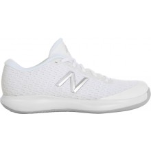 Chaussures New Balance Junior 996 V4 Toutes Surfaces Blanches