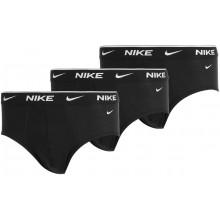 Pack de 3 Slips Nike Underwear Noirs