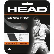 Cordage Head Sonic Pro Noir (12 Mètres)