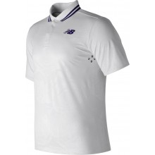 Polo New Balance Raonic Wimbledon MT71405 Blanc
