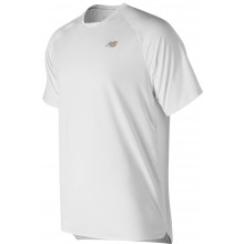 Tee-Shirt New Balance Tournament Wimbledon Blanc