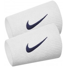 Serre Poignets Nike Team Double Largeur Blancs
