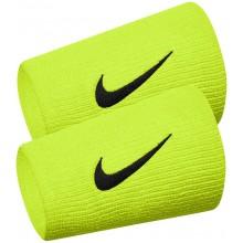 Serre Poignets Nike Team Double Largeur Verts