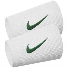 Serre Poignets Nike Tennis Double Largeur Premier Team Londres Blancs