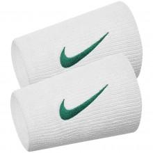 Serre Poignet Nike Tennis Double Largeur Nadal Londres Blancs