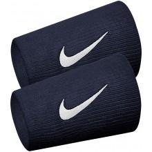 Serre-poignets Nike Double Largeur Bleus
