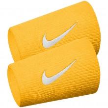 Serre-poignets Nike Premier Team Double Largeur Jaune
