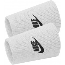 Serre Poignets Nike Tennis Double Largeur Futura Blancs