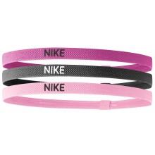 Bandeaux Nike Elastiques Assortiment 3 Pièces