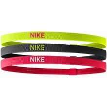 Pack de 3 Elastiques Nike Assortis
