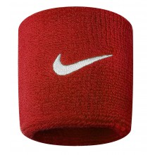 Serre-poignets Nike Swoosh Rouges
