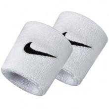 Serre-poignets Nike Swoosh Blancs