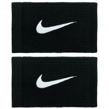 Serre Poignets Nike Double Largeur Dri Fit Reveal Noirs