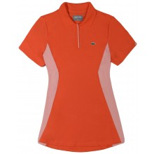 Polo Lacoste Femme Tennis Rouge