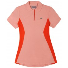 Polo Lacoste Femme Tennis Corail