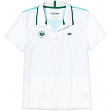 Polo Lacoste Femme Blanc
