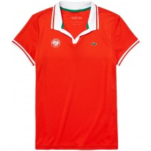 Polo Lacoste Femme Rouge