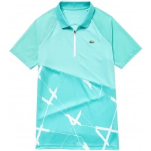 Polo Lacoste Femme Tennis Turquoise