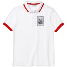 Polo Lacoste Junior Blanc