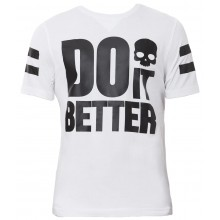 Tee-Shirt Hydrogen Do It Better Blanc