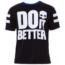 Tee-Shirt Hydrogen Do It Better Noir