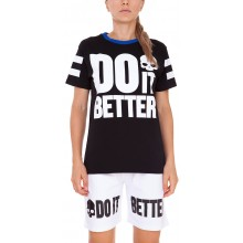 Tee-Shirt Hydrogen Femme Do It Better Noir